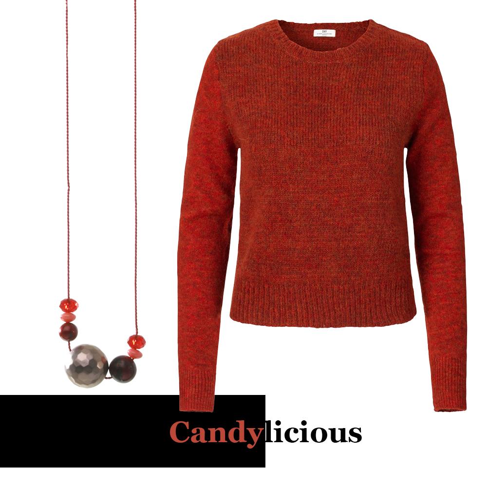 style strikk genser