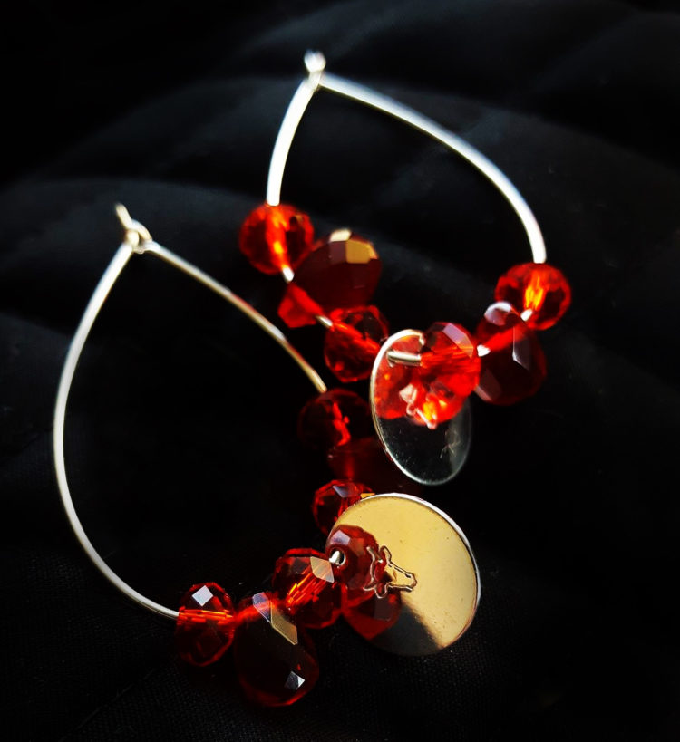 Røde smykker