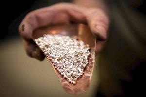støpe sølv smykker